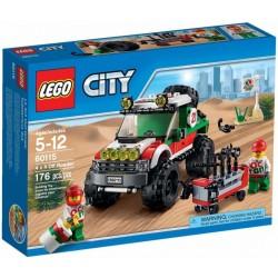 LEGO City 60115 Terénní vozidlo 4x4