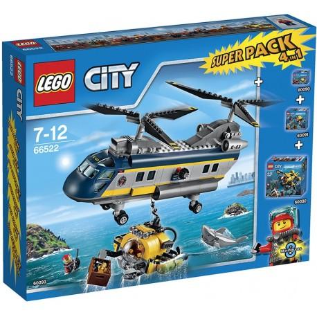 LEGO City 66522 Podmořská výzkumná expedice