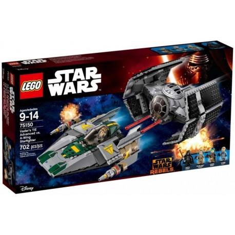 LEGO Star Wars 75150 Vader's TIE Advanced vs. A-Wing Starfighter