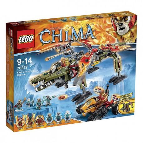 LEGO Chima 70227 Záchrana krále Crominuse