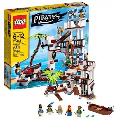 LEGO Pirates 70412 Vojenská pevnost