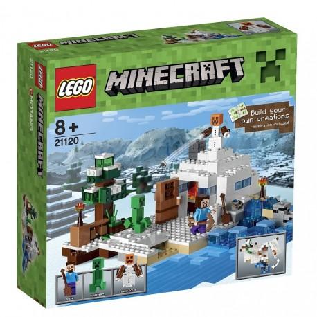 LEGO Minecraft 21120 Sněžná skrýš
