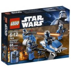 LEGO Star Wars 7914 Bojová jednotka Mandalorianů