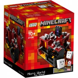 LEGO Minecraft 21106 Micro World The Nether