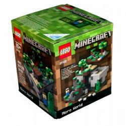LEGO Minecraft 21102 Mikrosvět První noc