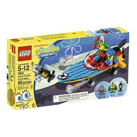 LEGO Sponge Bob 3815 Úžasní hrdinové z hlubin