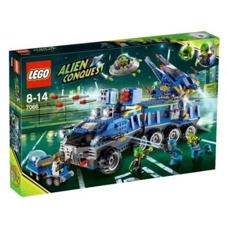 LEGO Alien Conquest 7066 Velitelství obrany Země