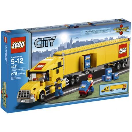 LEGO City 3221 Nákladní Truck žlutý
