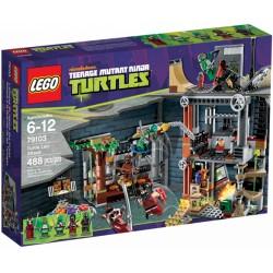 LEGO Ninja Turtles 79103 Útok na želví doupě