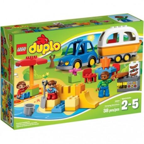 LEGO Duplo 10602 Kempovací dobrodužství