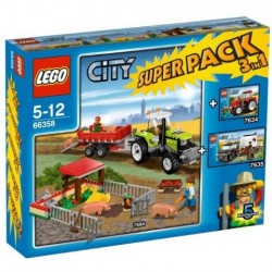 LEGO City 66358 Farmářský Super set