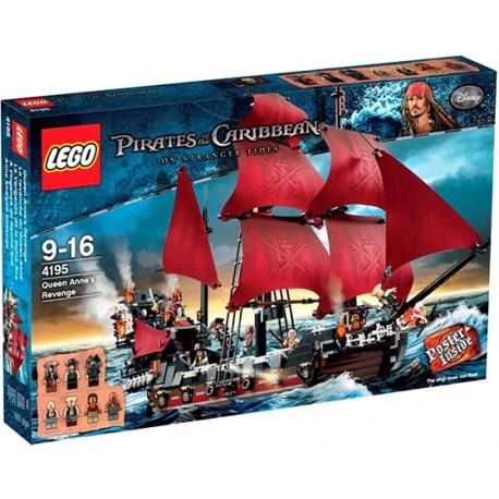 LEGO Piráti z Karibiku 4195 Pomsta královny Anny