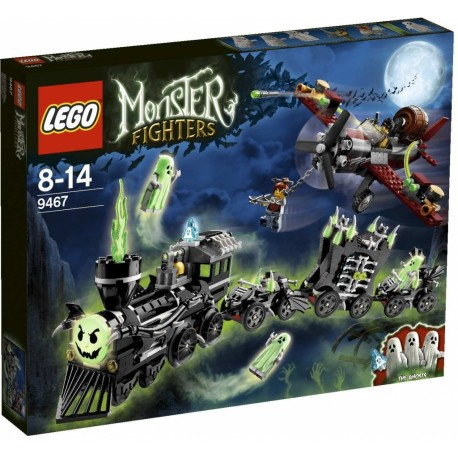 LEGO Monster Fighters 9467 Vlak duchů