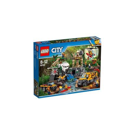 LEGO City 60161 Průzkum oblasti v džungli