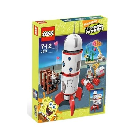 LEGO SpongeBob 3831 Raketová jízda