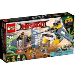 LEGO The Ninjago Movie 70609 Bombardér Manta Ray