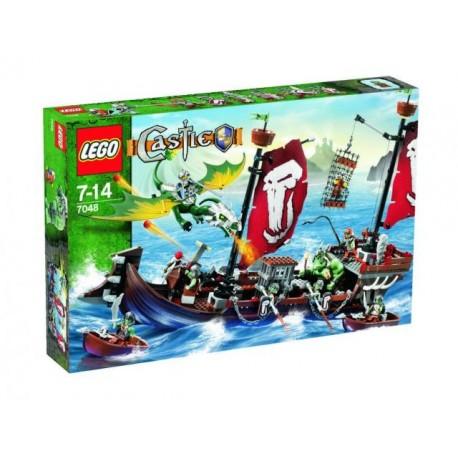 LEGO Castle 7048 Válečná loď trolů