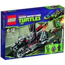 LEGO Ninja Turtles 79101 Trhačova dračí motorka