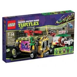 LEGO Ninja Turtles 70104 Želví pouliční honička