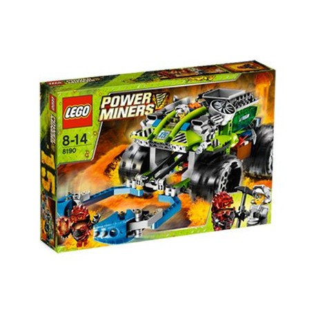 LEGO Power Miners 8190 Terénní auto s chapadly