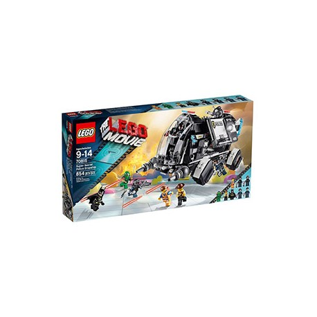 LEGO Movie 70815 Super tajné policejní přistání