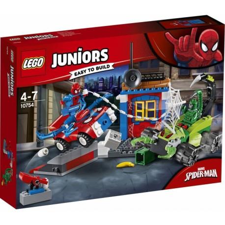 LEGO Juniors 10754 Spider-Man vs. Scorpion Souboj na silnici