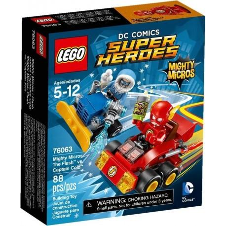 LEGO Super Heroes 76063 Flash vs. Kapitán Cold