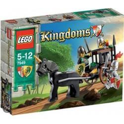 LEGO Kingdoms 7949 Honička za kočárem se zajatcem