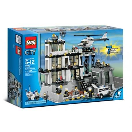 LEGO City 7237 Policejní centrála