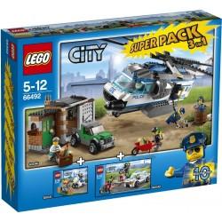 LEGO City 66492 Policie Superpack 3v1