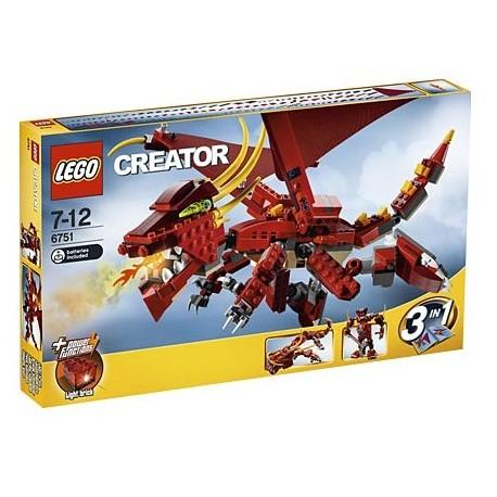 LEGO Creator 6751 Ohnivá legenda