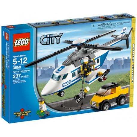 LEGO City 3658 Policejní vrtulník v akci