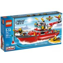 LEGO City 7207 Hasičský člun