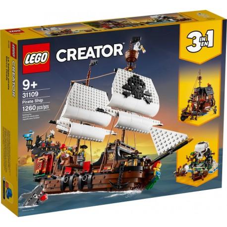 LEGO Creator 31109 Pirátska loď