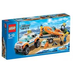 LEGO City 60012 Džíp 4x4 a potápěčský člun