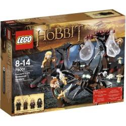 LEGO Hobbit 79001 Únik před pavouky z Mirkwoodu