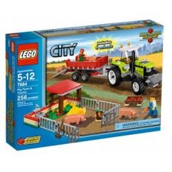 LEGO City 7684 Vepřín a traktor