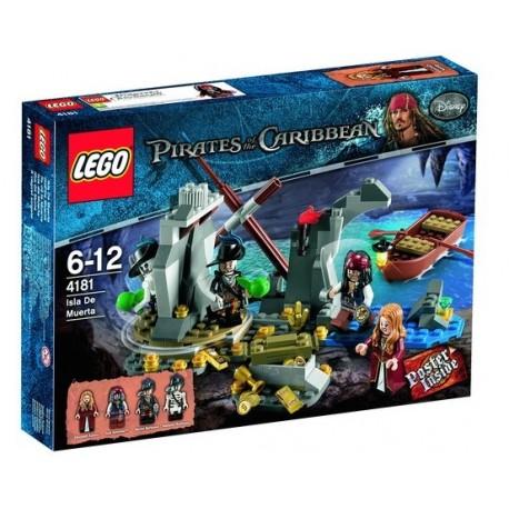 Lego 4181 Piráti z Karibiku Ostrov smrti