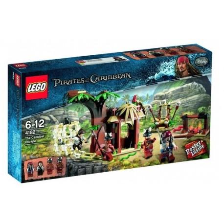 LEGO Piráti z Karibiku 4182 Útěk před kanibaly