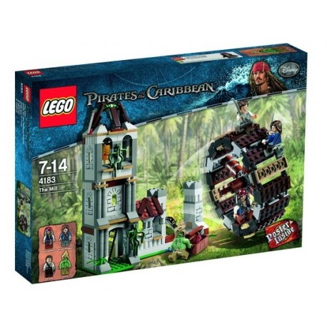 LEGO Piráti z Karibiku 4183 Mlýn