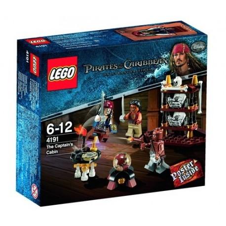 LEGO Piráti z Karibiku 4191 Kajuta kapitána