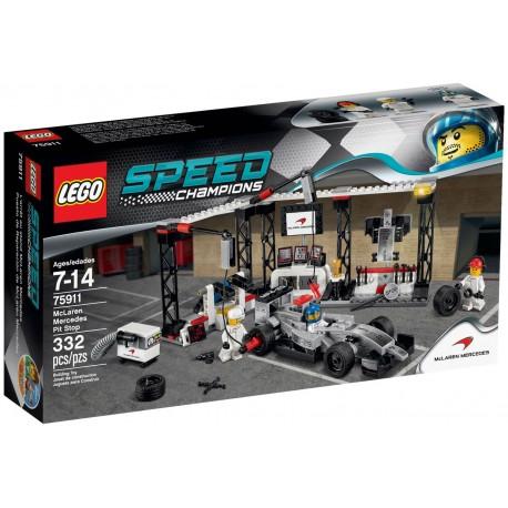 LEGO Speed Champions 75911 Zastávka v boxech
