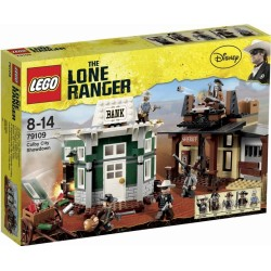 LEGO The Lone Ranger 79109 Loupež v Colby City