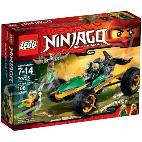 LEGO Ninjago 70755 Bugina do džungle