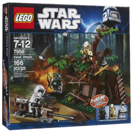 LEGO Star Wars 7956 The Endor Battle Pack