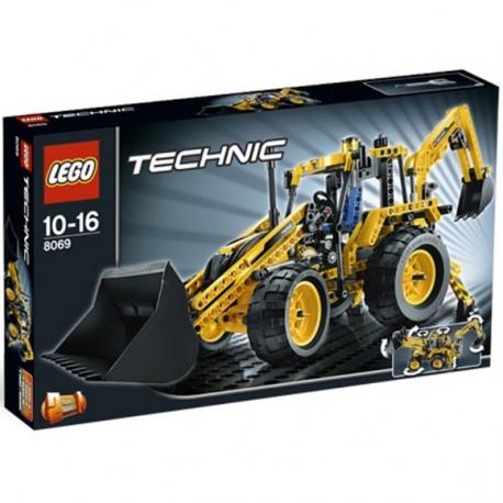 Lego Technic 8069 Nakladač se zadní lžící