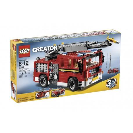 LEGO Creator 6752 hasičský zachranný vůz