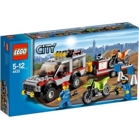LEGO City 4433 Tahač na terénní motorky