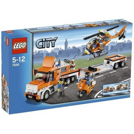 LEGO City 7686 Transport helikoptéry