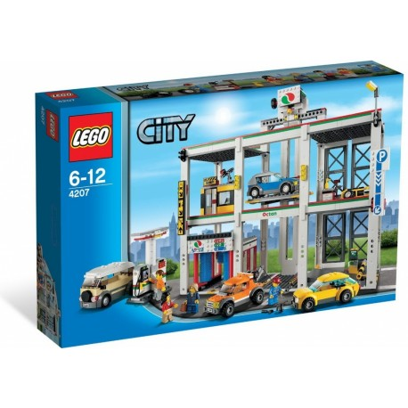 Lego City 4207 Autopark a Garáž